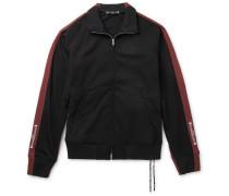Striped Jersey Track Jacket