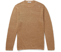 Donegal Linen and Silk-Blend Sweater
