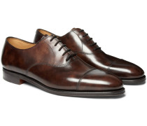City Ii Leather Oxford Shoes - Brown