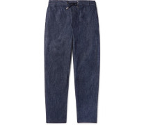 Denim Drawstring Trousers