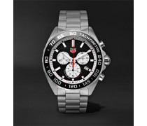 Formula 1 Quartz Chronograph 43mm Stainless Steel Watch - Silver
