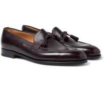 Callington Museum Leather Tasselled Loafers