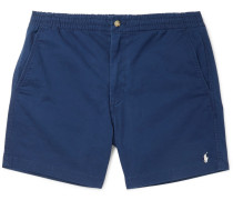 Prepster Stretch-cotton Twill Shorts