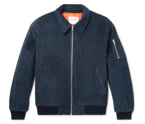Rudeboy Oversized Cotton-corduroy Bomber Jacket