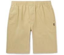 Cotton-twill Drawstring Shorts