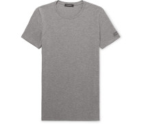 Stretch-micro Modal Jersey T-shirt - Gray