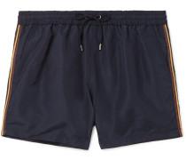 Mid-length Swim Shorts - Navy