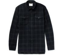 Checked Wool Shirt