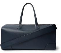 Boston Pebble-Grain Leather Duffle Bag