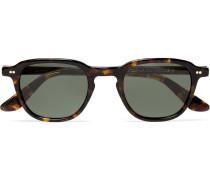Billik Round-frame Tortoiseshell Acetate Sunglasses