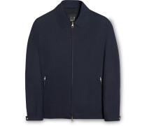 Silk Blouson Jacket