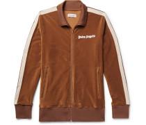Striped Cotton-corduroy Track Jacket