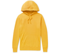 Loopback Pima Cotton-jersey Hoodie