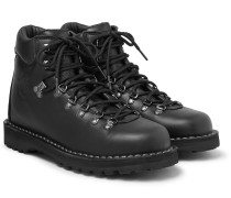 Roccia Vet Shearling-Lined Leather Boots