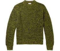 Toby Mélange Merino Wool Sweater - Yellow