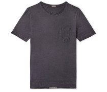 Watercolour-Dyed Cotton-Jersey T-Shirt
