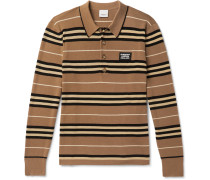 Striped Merino Wool Polo Shirt