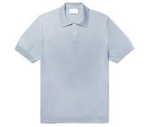 Mercerised Pima Cotton-Jersey Polo Shirt