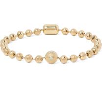 14-karat Gold Diamond Bracelet - Gold