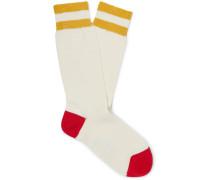 + Goodwood Striped Cotton Socks