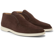 Open Walk Suede Boots