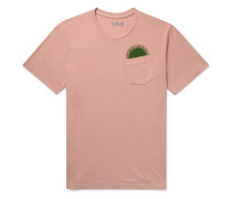 Country Sun Printed Cotton-Jersey T-Shirt
