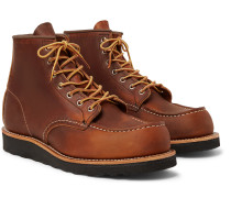 8138 6-Inch Moc Leather Boots