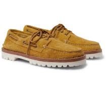 Authentic Original Brushed-Suede Boat Shoes
