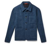 Virgin Wool-Blend Bouclé Overshirt