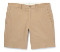Knightsbridge Slim-Fit Stretch-Cotton Twill Shorts