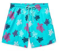 Moorea Mid-length Printed Swim Shorts