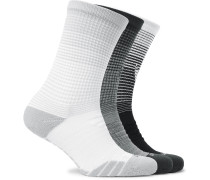 Three-pack Everyday Max Cushion Dri-fit Crew Socks - Multi