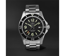 Superocean Automatic 44mm Stainless Steel Watch, Ref. No. A17367D71B1A1