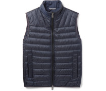 Darano Quilted Water-repellent Shell Down Gilet