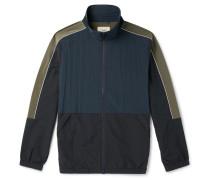 Panelled Nylon Track Jacket
