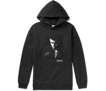 + Chet Baker Printed Fleece-back Cotton-jersey Hoodie