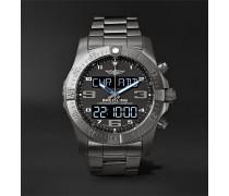 Exospace B55 Superquartz 46mm Titanium Watch
