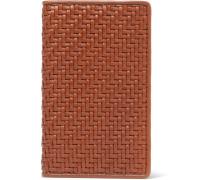 Pelle Tessuta Leather Cardholder - Tan