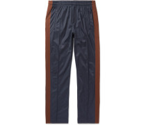 Striped Satin Sweatpants