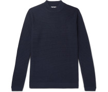 Duncan Slim-Fit Ribbed Wool-Blend Sweater
