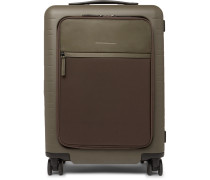 Model M 55cm Polycarbonate, Nylon And Leather Carry-on Suitcase
