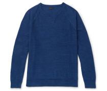 Mélange Cotton-jersey Sweater