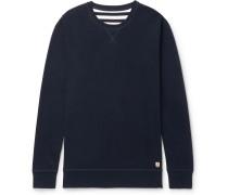 Striped Cotton-jersey Sweatshirt