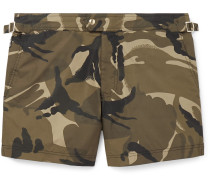 Slim-Fit Short-Length Camouflage-Print Swim Shorts