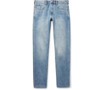 Slim-fit Tapered Denim Jeans