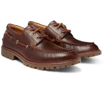 Gold Cup Leather Boat Shoes