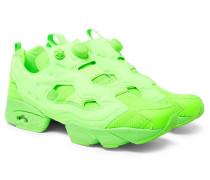 + Reebok Instapump Fury Neon Slip-on Sneakers