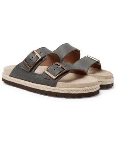 Brunello Cucinelli Herren Full-grain Leather Sandals Verkauf Von Top-Qualität 2018 Unisex Günstiger Preis Top Qualität Für Billig Günstig Online LV8ZUOZV1