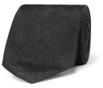 7cm Scritto Silk-Jacquard Tie