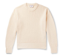 Linen and Cotton-Blend Sweater